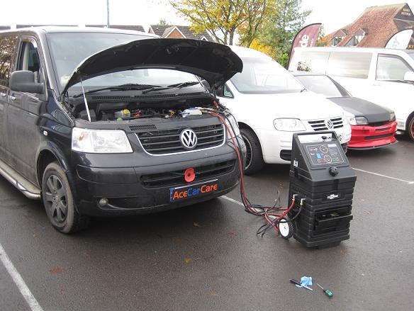 Vw Transporter T5 Clean And Tune Combo Remapping